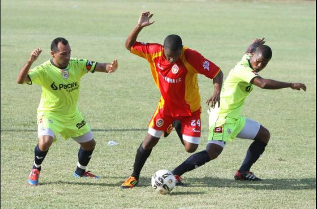 Real Cartagena jugó ayer un partido amistoso ante Uniatónoma.