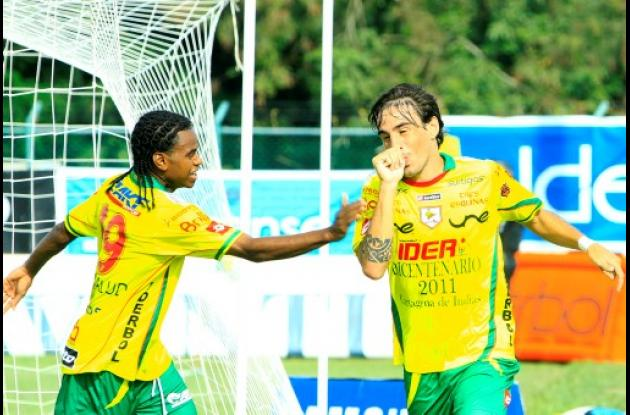 Real Cartagena derrotó 2-0 ayer a Itagüí