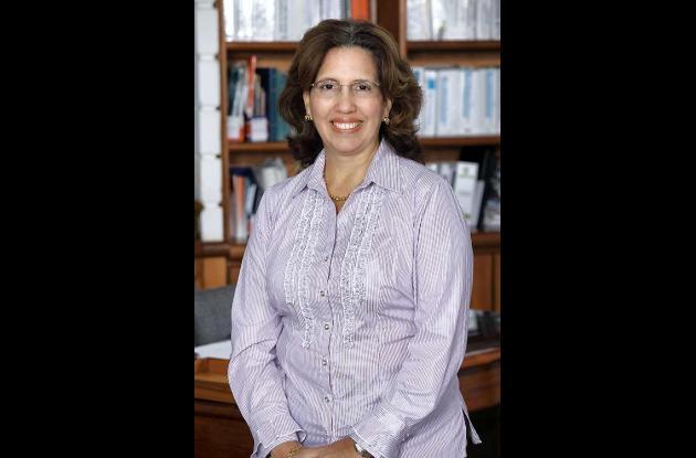 Patricia Martínez Barrios, rectora de la UTB.