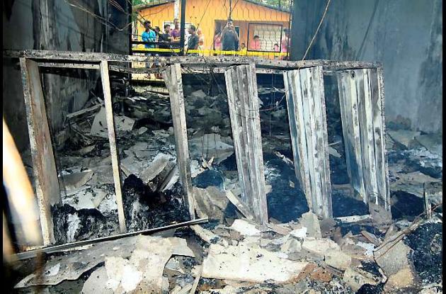 La Registraduría de Mahates fue incendiada. Se perdieron todos los documentos.
