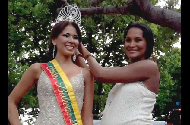 Karen Mendoza y Jeimy Vargas.