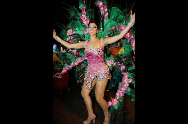 Andrea Jaramillo Char ,Reina del Carnaval de Barranquilla