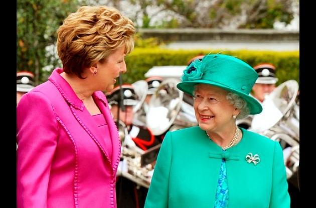 La reina Isabel II de visita oficial a Irlanda.