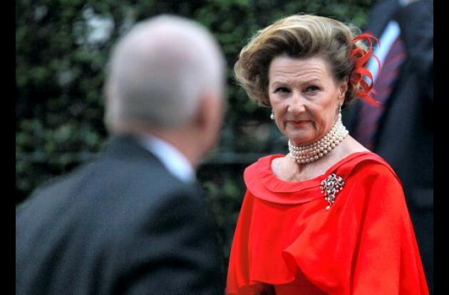 Reina Sonia de Noruega.
