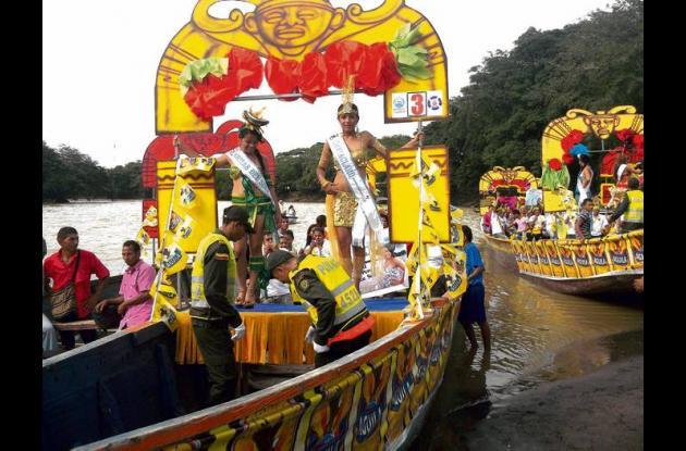 Reinado Popular del río Sinú.