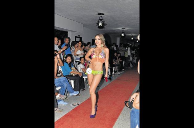 María Mónica Díaz, señorita Colombia.