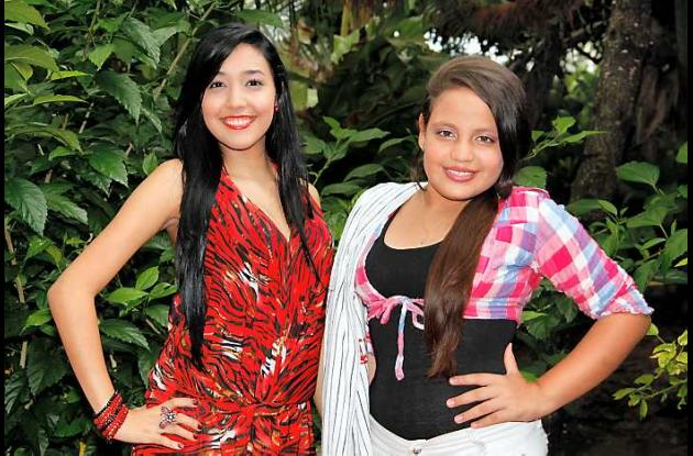 Las reinas Jennifer Carolina Espinoza Marrugo y Valentina Lombana.