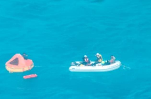 Rescatados seis personas en mar caribe colombiano,