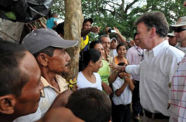 El Gobierno Santos sigue abriendo oficinas de restitución de tierras.