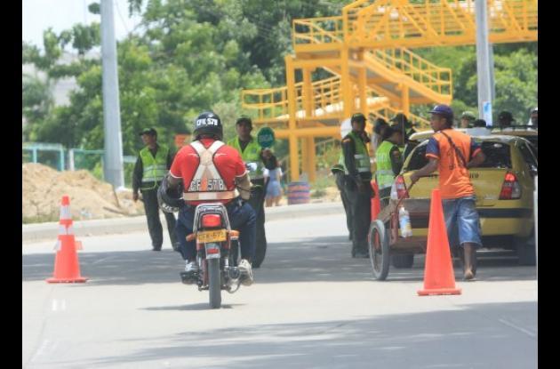 Seguridad de taxistas en Cartagena