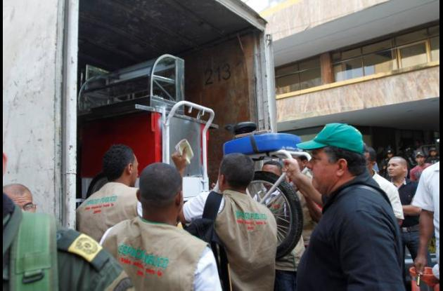 Operativos de espacio público en Centro Histórico de Cartagena