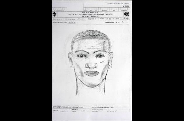 Estos son los retratos hablados de los posibles implicados en el atentado contra