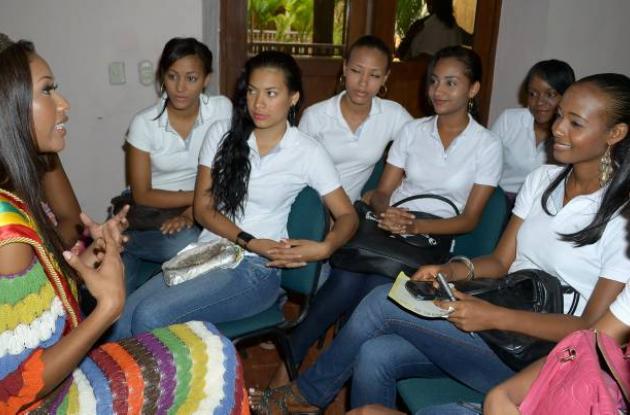 Elida Patricia Castro Herrera Señorita Cartagena 2012