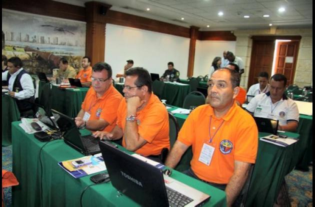 Cumbre en el Hotel Estelar de Cartagena.