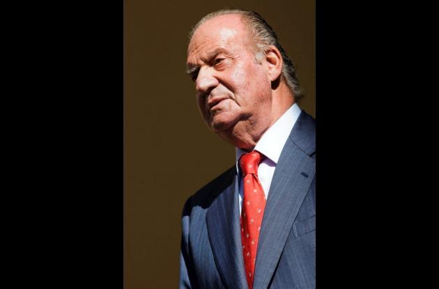 Rey Juan Carlos de España.