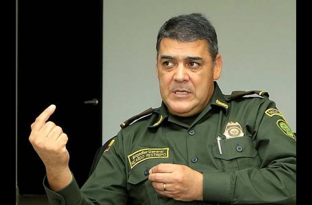 El brigadier general Ricardo Restrepo