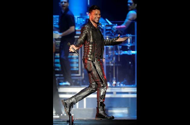 Ricky Martin con nacionalidad española.