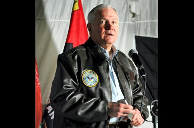 El secretario de Defensa estadounidense Robert Gates.