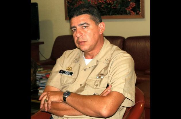 Vicealmirante Roberto García Márquez