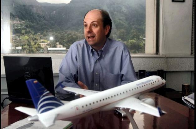 Roberto Junguito, presidente de Copa Airlines.
