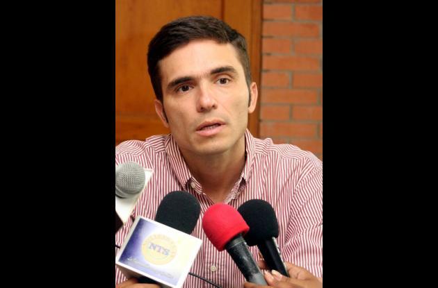 Jairo Barona, presidente de la Asamblea de Sucre.