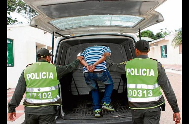 """Alias """"El Pecas"""" fue capturado por robo de moto."""