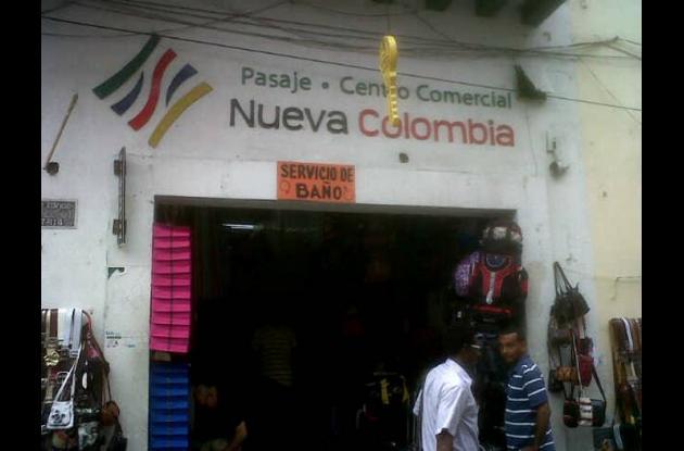 Roban en el Centro Comercial Nueva Colombia.