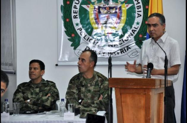 ministro de Defensa durante balance del Plan Troya