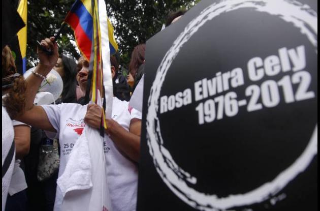 El caso de Rosa Elvira Cely ha generado gran indignación en los colombianos.