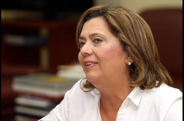 Rosario Ricardo Bray, secretaria de Educación distrital.
