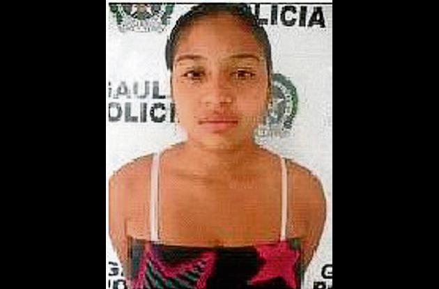 Rossy Colón Alandete, capturada.