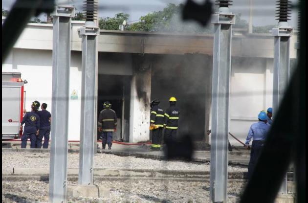 Explosión en subestación eléctrica de Barranquilla