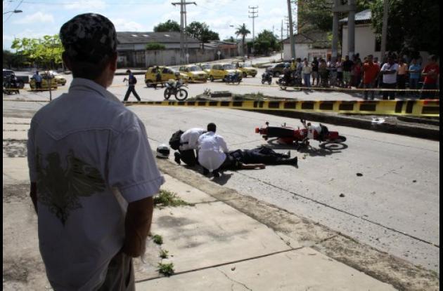 matan guardián del Inpec en Barranquilla