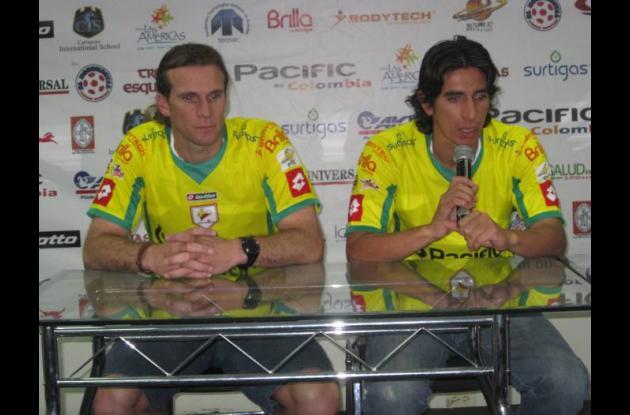 Matías Marchesini y Gilberto Velásquez.