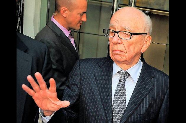 Rupert Murdoch.  director general de News Corp.