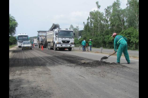 A la fecha se han construido 41.2 kilómetros de doble calzadas y rehabilitado 18