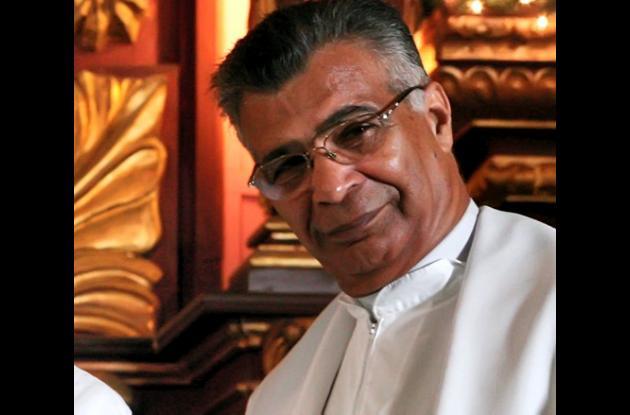 Padre Sahabel Porto, vicario general de la Arquidiócesis de Cartagena.