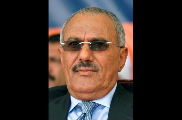 Alí Abdala Saleh, presidente de Yemen.