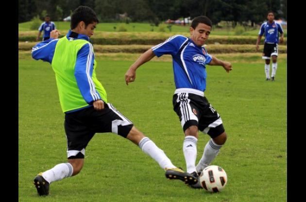 Oswaldo Salgado, integrante de la selección Colombia Sub-17.