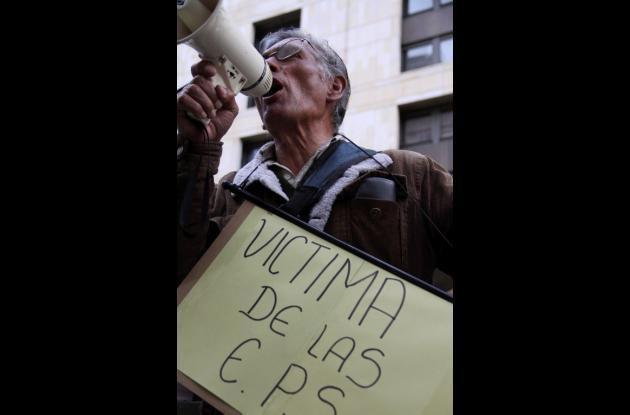 Protestas por carrusel de la salud