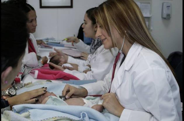 Servicio de salud en Cartagena.