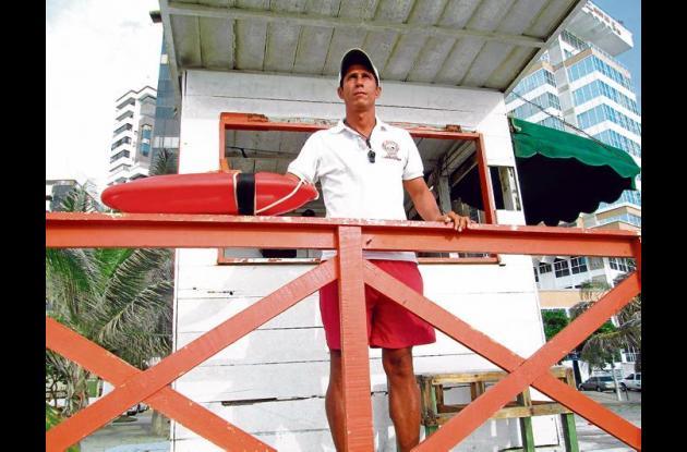 El Cuerpo de Salvavidas de Cartagena cuenta con 44 rescatistas.