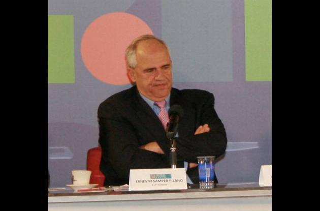 El expresidente Ernesto Samper, en el debate nacional sobre la legalización de l
