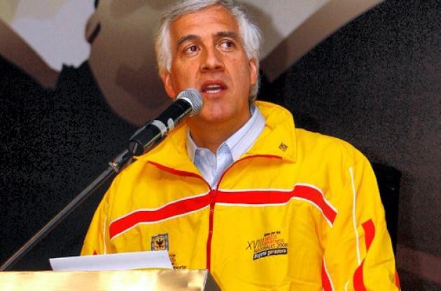 Samuel Moreno Rojas, alcalde suspendido de Bogotá.