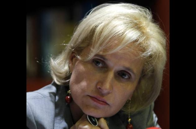 Sandra Morelli, contralora general de la República.