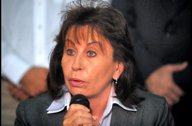 Sandra Torres, aspirante a la Presidencia de Guatemala.