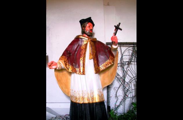 Imagen de San Juan Nepomuceno, santo patrono de los sanjuaneros, en los Montes d
