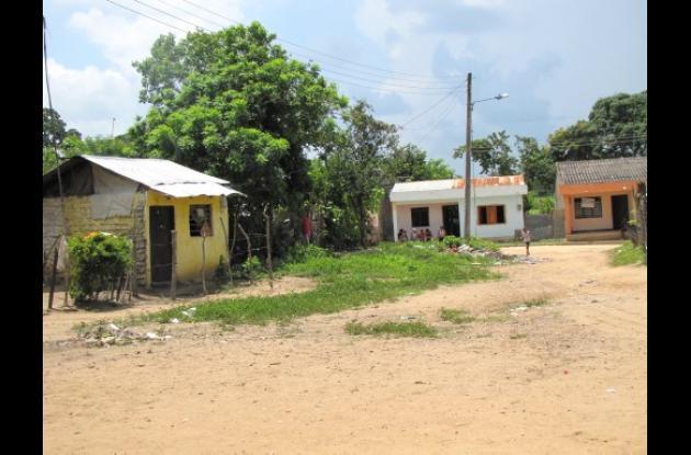 El barrio Santa Rosa de Lima de Arjona.