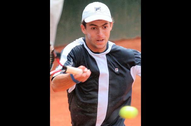 Santiago Giraldo, tenista colombiano.
