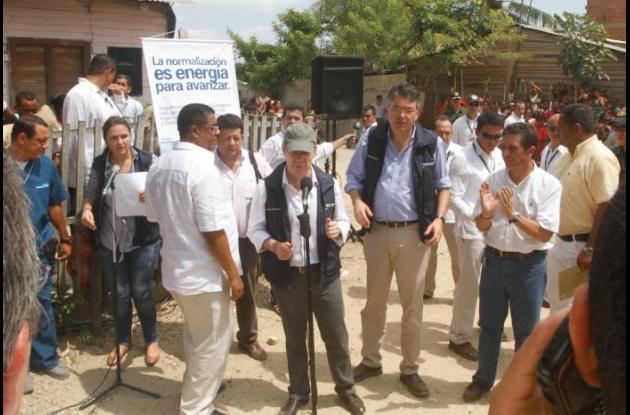 visita de Santos a Nelson Mandela